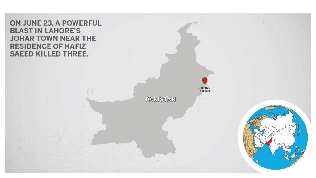 Map of Johar Town Pakistan