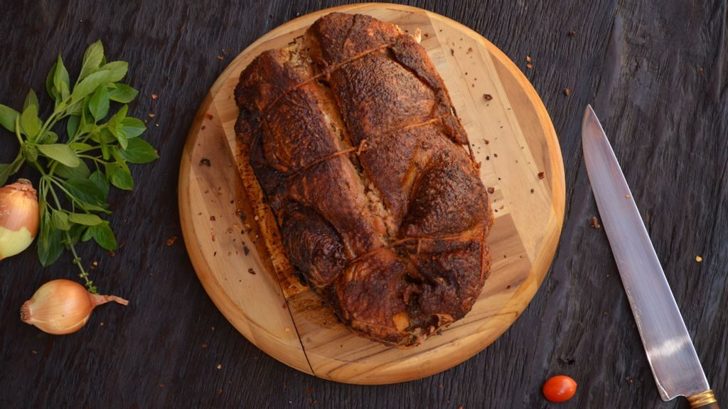 PorkRindsComplement Many Dishes As AWeekend Treat