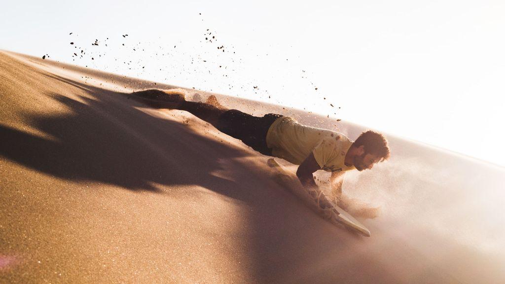 Arenas mexicanas se suman a la moda del 'sandboarding'
