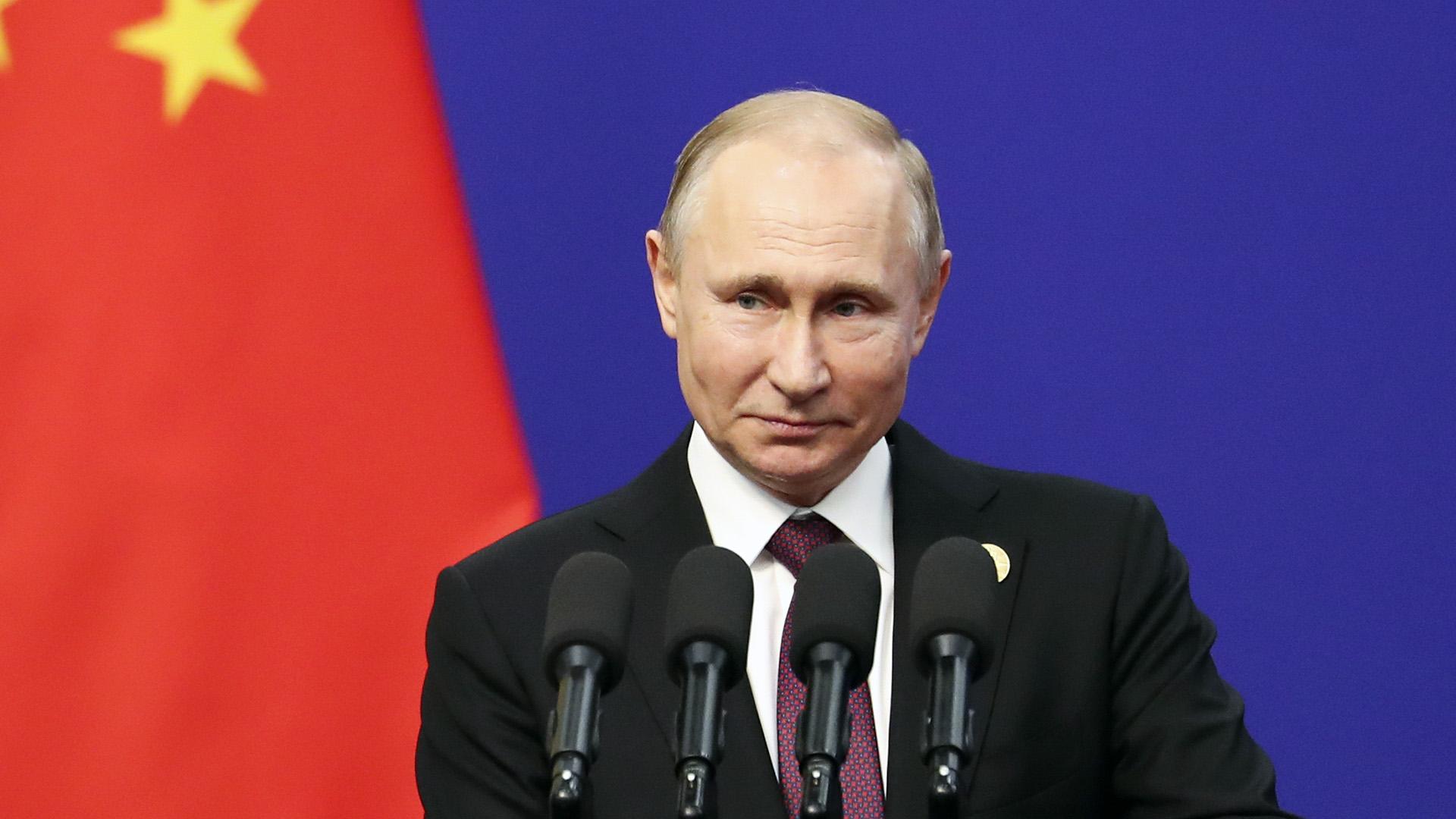 Vlad Jab: Putin Reveals He's Had The Sputnik V Vax