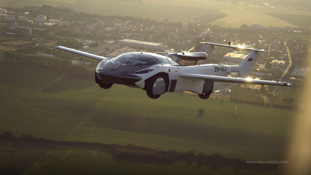 VIDEO: Air It Is: Flying Car Takes To The Sky On First Inter-City Journey