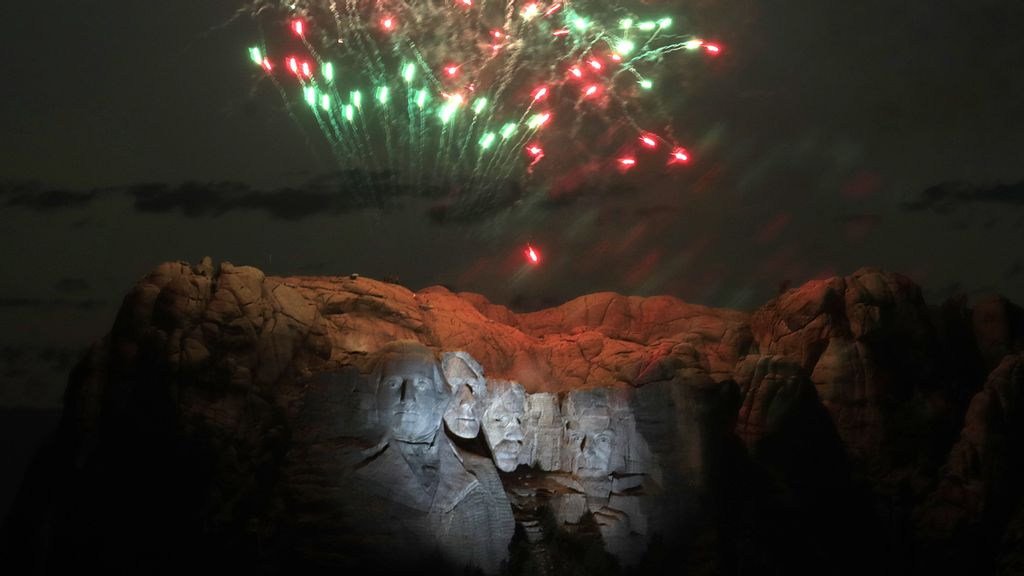 Court Blocks Repeat Of Trump's July 4th Fireworks Over Mount Rushmore