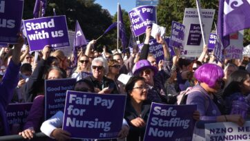 Nurses in New Zealand have voted overwhelmingly for further strike action.