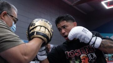 """Joseph """"JoJo"""" Diaz Jr. is moving up to the lightweight division for his July 9 match against Javier Fortuna. (Sye Williams)"""