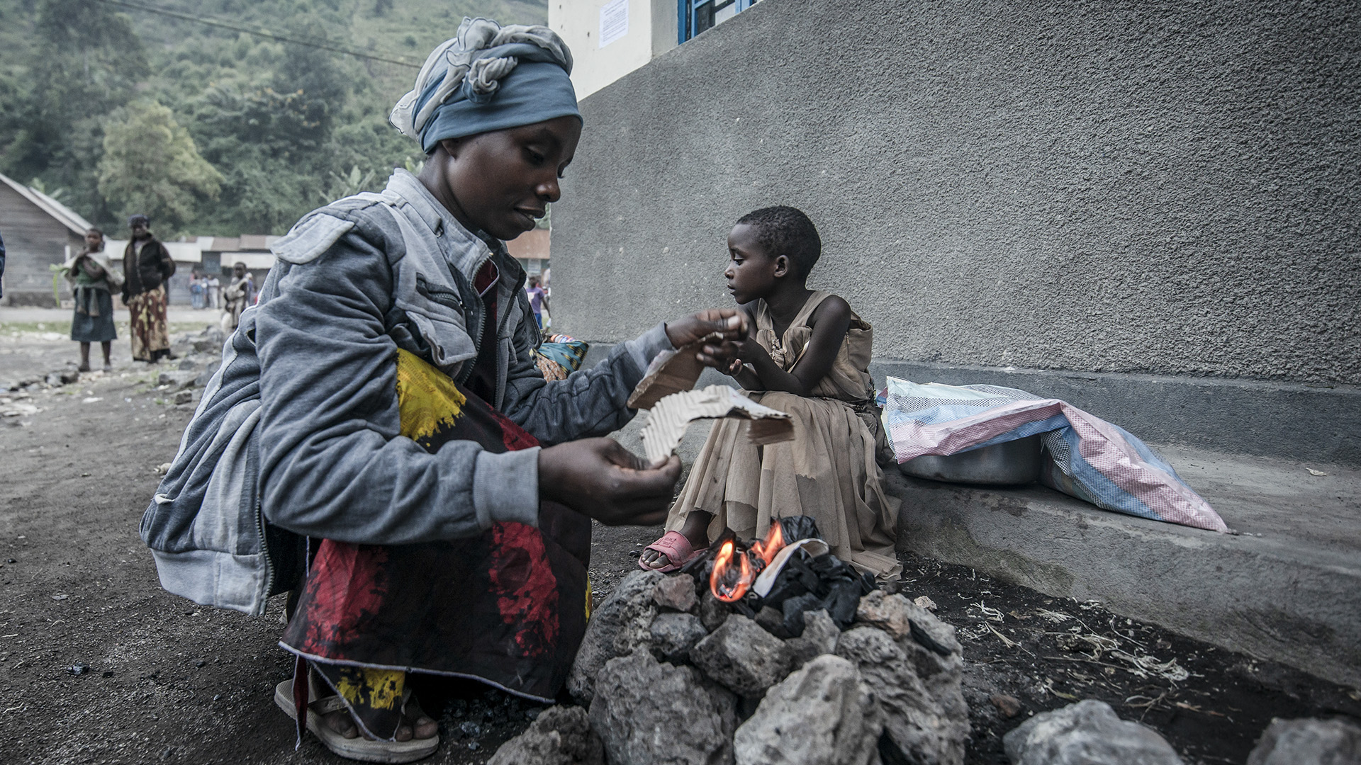 Hard Road To Recovery For Democratic Republic Of Congo's Volcanic Eruption Victims