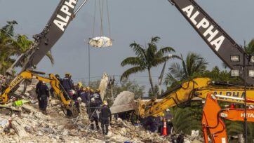 US authorities have confirmed an Australian man and his wife died in the Florida building collapse.