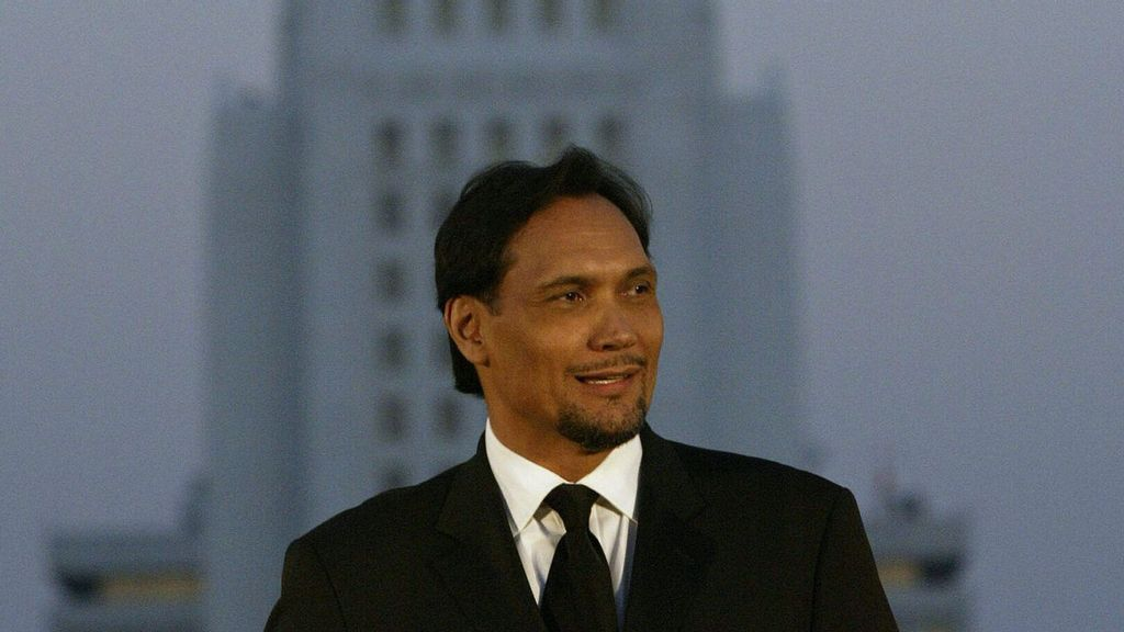 <p>Jimmy Smits received his star in Hollywood. (Anne Cusak-Pool/Getty Images)</p>
