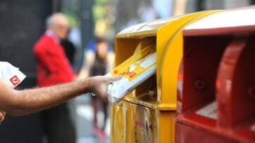 Australia Post has launched new satchels with space for traditional place names to mark NAIDOC week.
