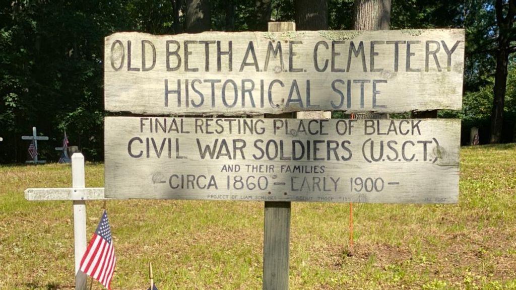 In New Jersey, Dozens Volunteer To Restore Black Civil War Veterans' Forgotten Burial Ground