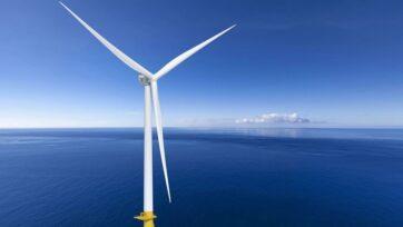 Los dos parques eólicos de Nueva Jersey planean utilizar turbinas GE Haliade. (Cortesía de GE).