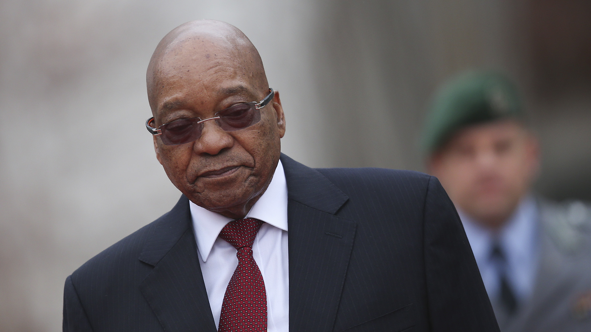 South Africa's Ex-President Zuma Turns Himself In For 15-month Prison Term