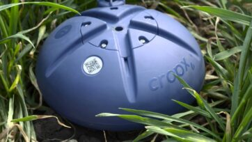 Farmers place CropX sensors in the field to gather soil data for analysis, leading to water savings and increased yield. (Courtesy of CropX)