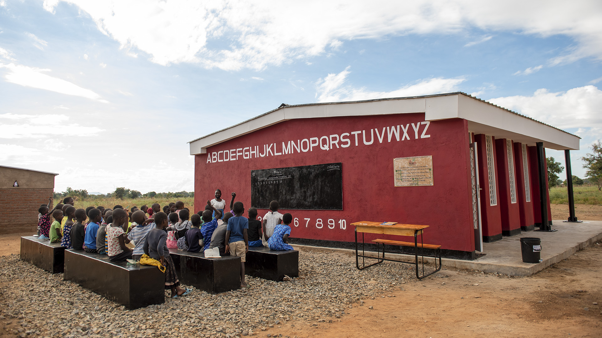 French Firm Unveils World's First 3D Printed School In Malawi