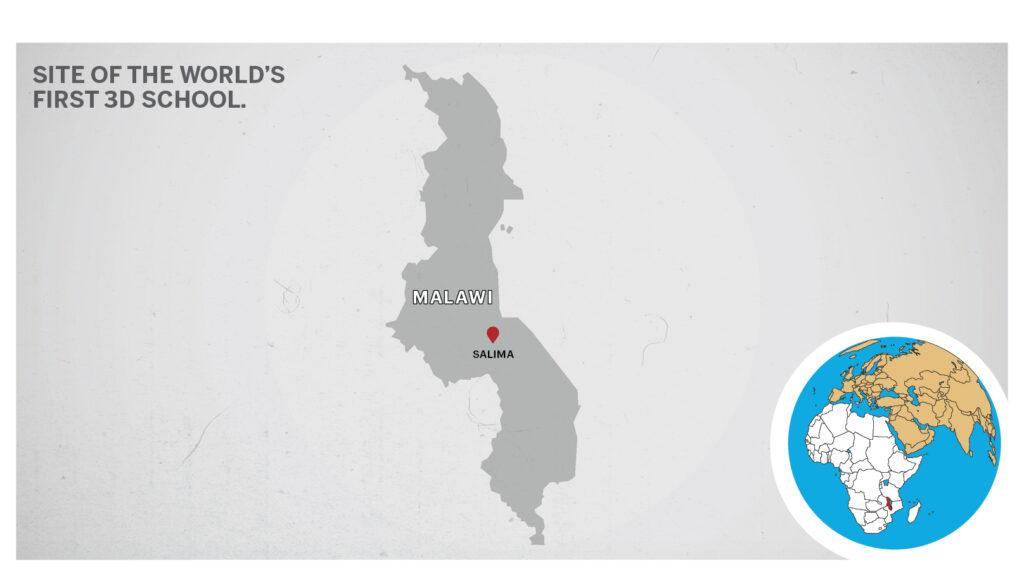 Map of Salima Malawi
