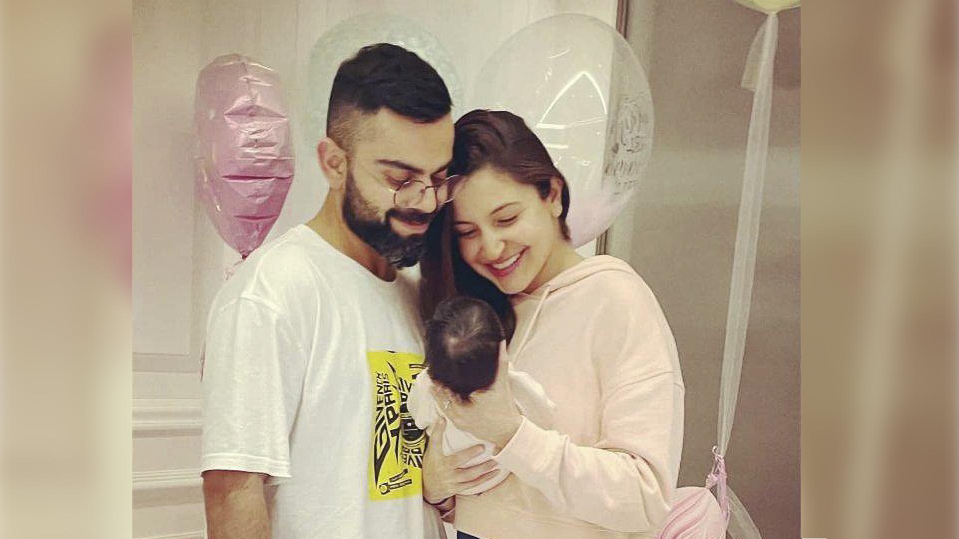 Anushka Sharma, Virat Kohli Celebrate As Daughter Vamika Turns 6 Months Old
