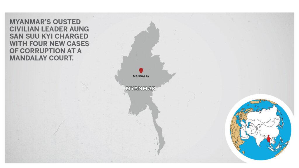 Map of Mandalay Myanmar