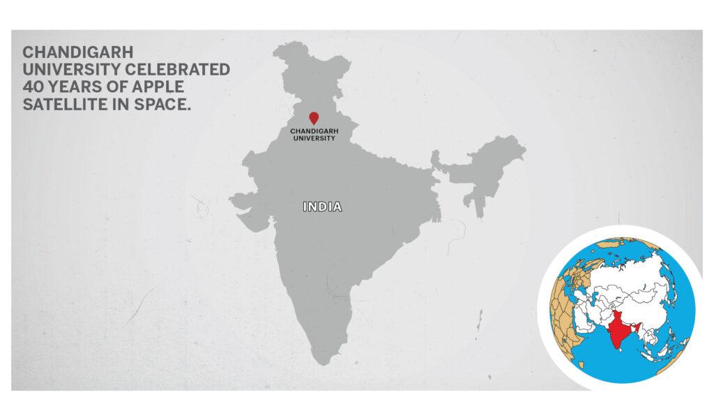 Map of Chandigarh University
