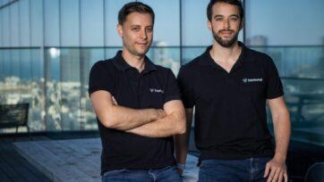 strongLos fundadores de Immunai (de izquierda a derecha): Noam Solomon y Luis Voloch. (Cortesía de Immunai)./strong