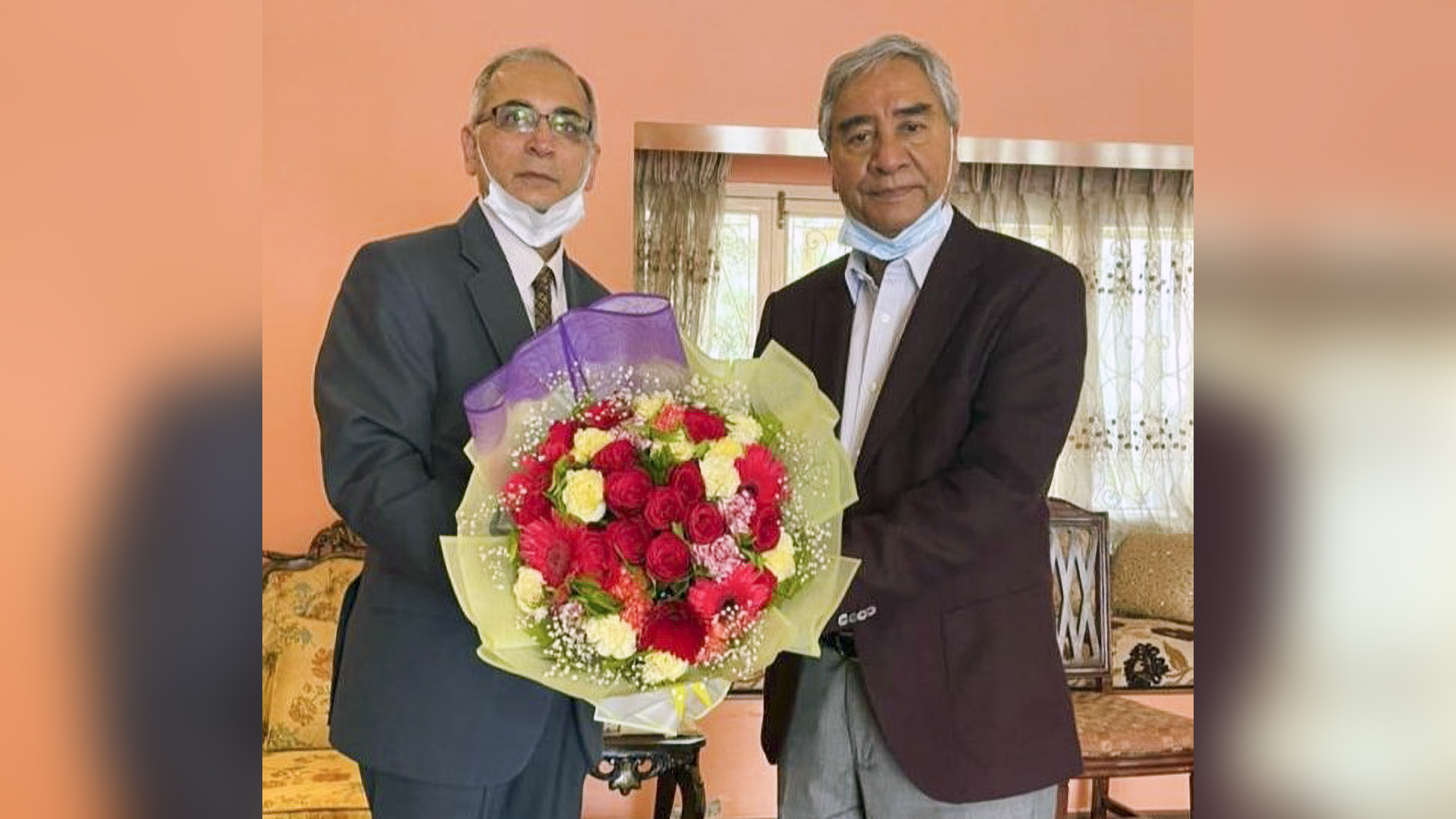 Sher Bahadur Deuba Sworn-in As New Nepal's Prime Minister