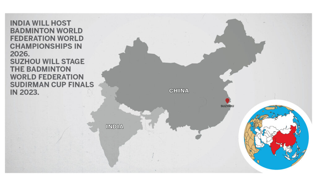 Map of India China