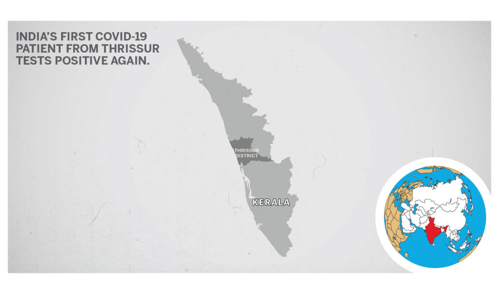 Map of Thrissur Kerala