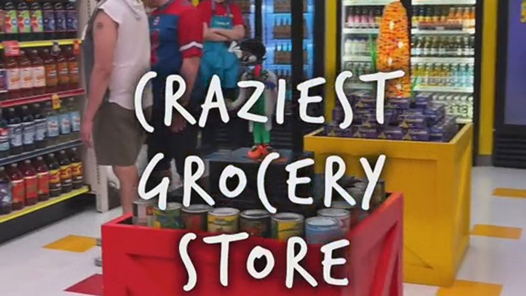 VIDEO: Cool! The Las Vegas Supermarket With A Secret Art Gallery Behind A Chiller Cabinet