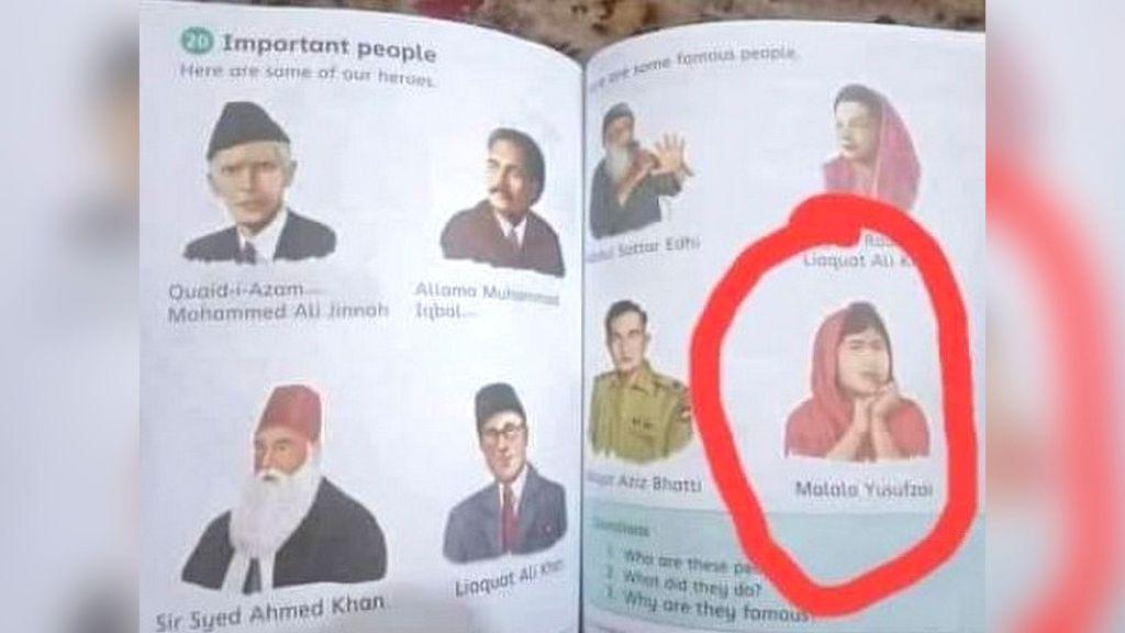Pakistan School Textbook Showing Malala Yousafzai As Hero Confiscated