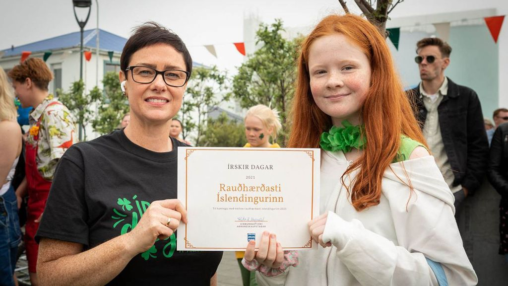 The Gingerest Ginger: Iceland Crowns 13-Year-Old Girl Its 'Most Redheaded'