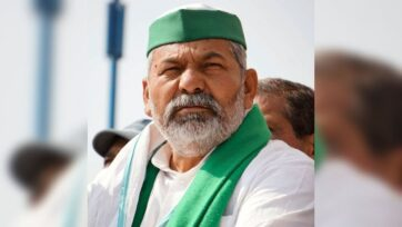 Bharatiya Kisan Union (BKU) leader Rakesh Tikait on Wednesday said the protest would be ''peaceful' despite the country witnessing violence on Republic Day when protestors reached Red Fort as a part of their 'tractor rally' protest. (Rakesh Tikait, @RakeshTikaitBKU/Twitter)