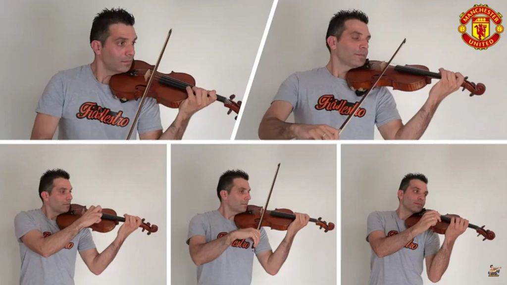 VIDEO: Fan U: Football Mad Violinist Turns Manchester United Chant Into A Classic