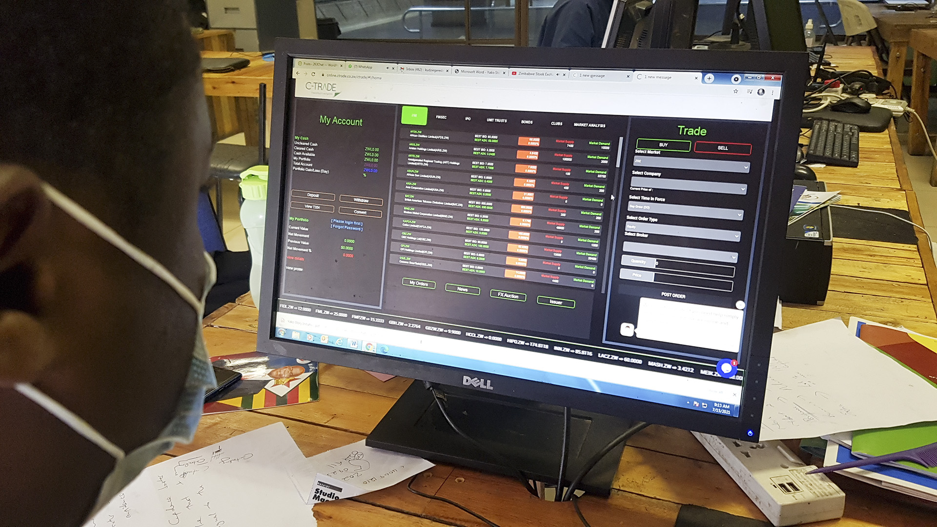 Zimbabwe's Financially Excluded Rural Folk Grab Opportunities In Digital Stock Trading