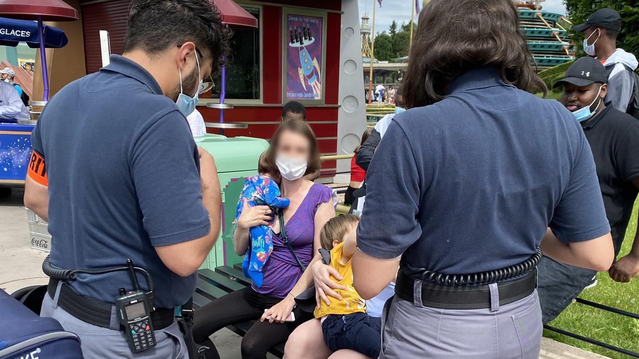 Disney Confronts Breastfeeding Australian Mother
