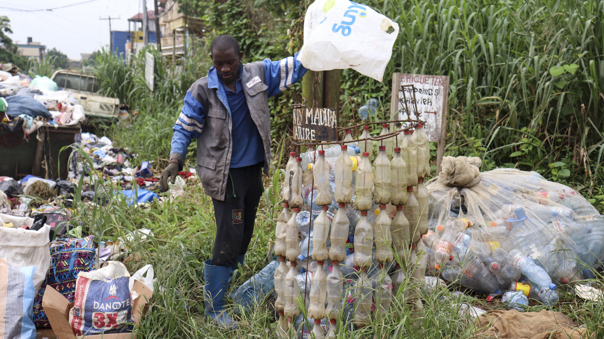 Environmentalist Invents App To Clean Up Cameroon's Polluted Rivers