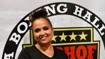 strongMichelle Corrales-Lewis es presidenta del Salón de la Fama del Boxeo de Nevada. (Salón de la Fama de Boxeo de Nevada)/strong