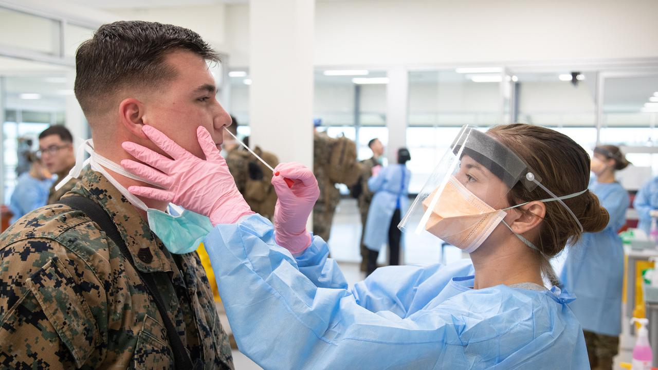 United States Military Flies Covid-19 Vaccine To Marines In Australia's Northern Territory