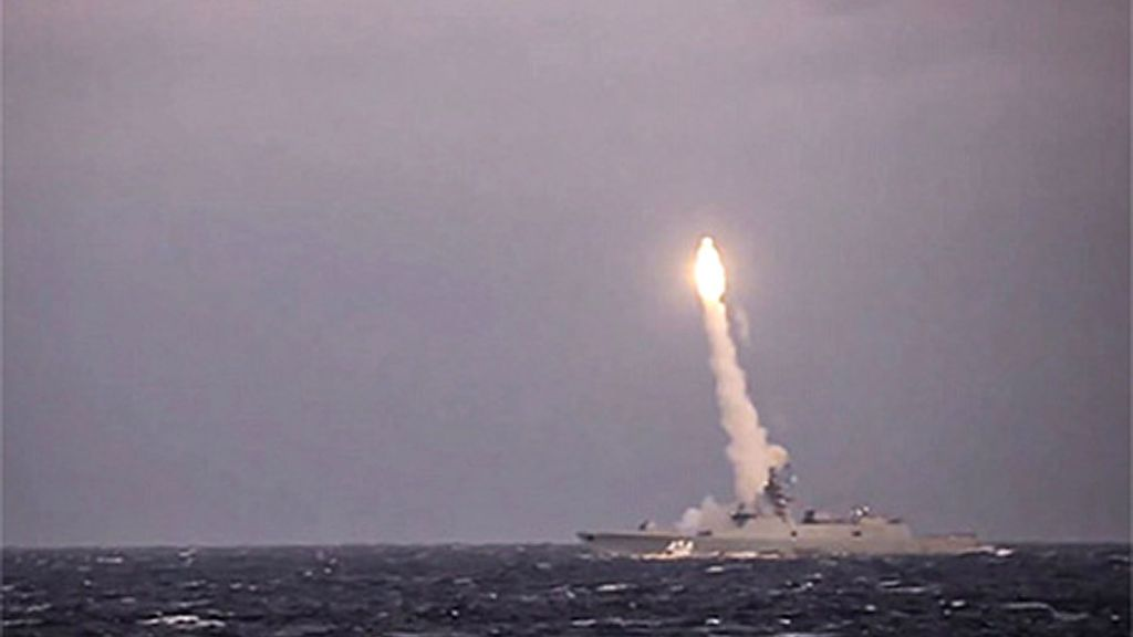 VIDEO: Russia's Hypersonic Cruise Missile Deployed For Tests Within Weeks