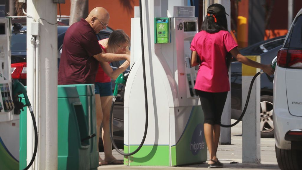 Relief Coming For Gas Prices, But Be Patient