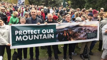 The majority of public submissions were not in favour of the Mt Wellington cable car plan.