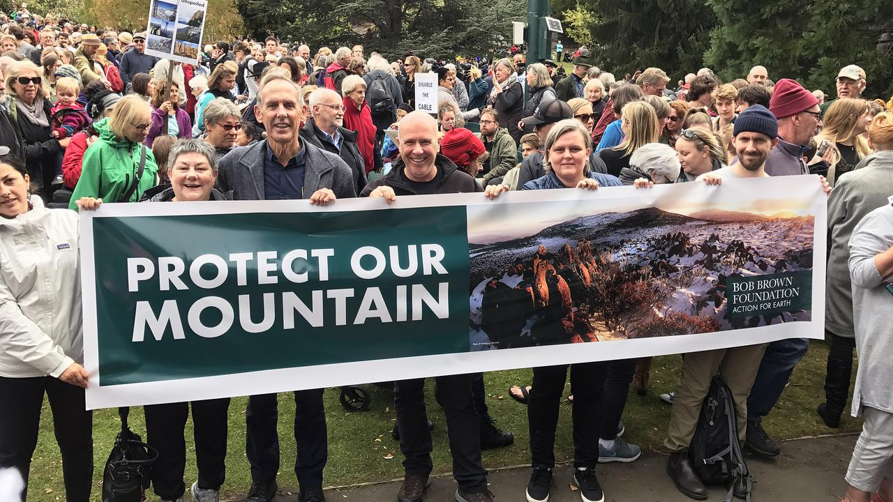 Independent Report Gives 21 Reasons Not To Put Cable-Car On Australia's Pristine Mount Wellington