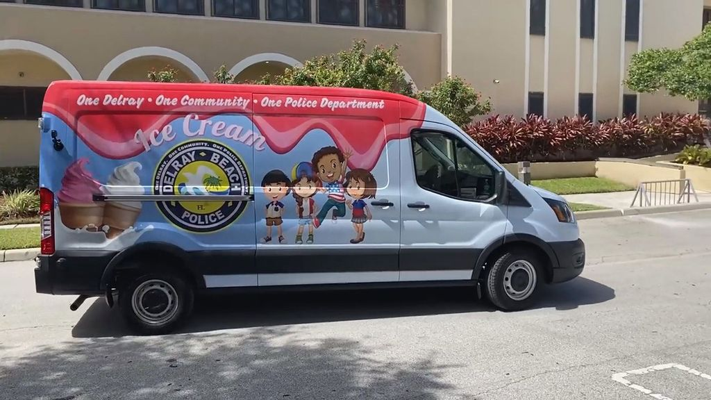 VIDEO: Freeze Punks: This Really Is Free Ice Cream From Your Neighborhood Cops
