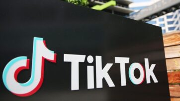 Businesses large and small have flocked to Tik Tok, which has been popular among Gen Z since it exploded in 2020. The pandemic drove quarantined users to its personalized stream of irreverent content. (Photo by Mario Tama/Getty Images)