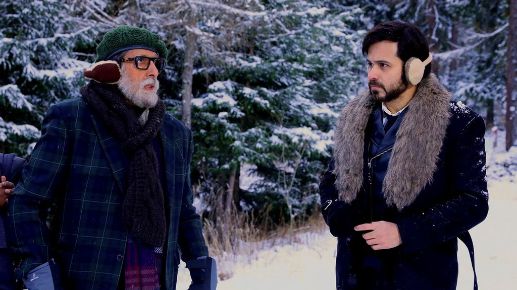 """Amitabh Bachchan Back On Sets Of """"Chehre"""" To Shoot For Title Track Video"""