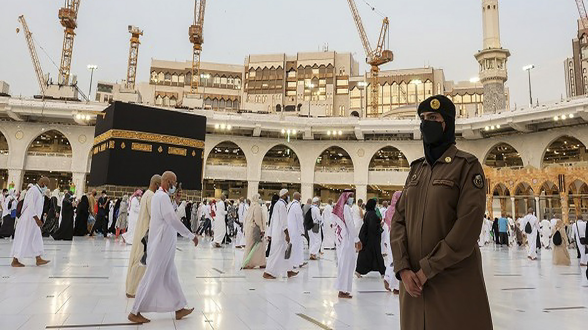 In A First, Saudi Female Officers Allowed To Guard Islam's Holiest Sites