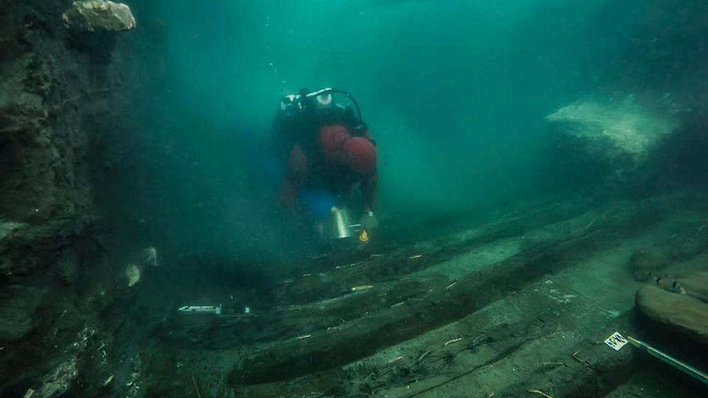 Buried Treasure: Ancient Greek Warship Found Under Sunken Egyptian City