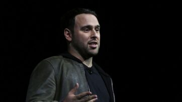 Scooter Braun, who represents artists including Justin Bieber and Ariana Grande, filed for divorce from businesswoman Yael Cohen in Los Angeles. (Alex Wong/Getty Images)