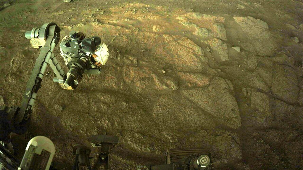 NASA Perseverance Mars Rover To Collect First Sample Of Rock From Mars
