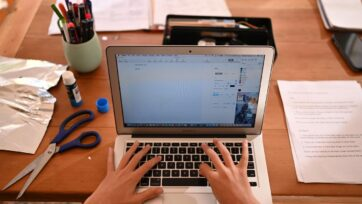 Victoria's Year 12 students have had to study remotely for the second year in a row.