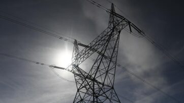 Energy prices have gone up, driven by cold weather and coal-fired power station outages.