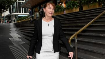 Former UTS professor Dianne Jolley has been found guilty of sending threatening letters to herself.