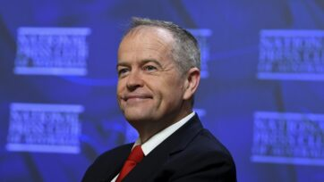 I think that Anthony Albanese can win the next election, former Labor leader Bill Shorten says.